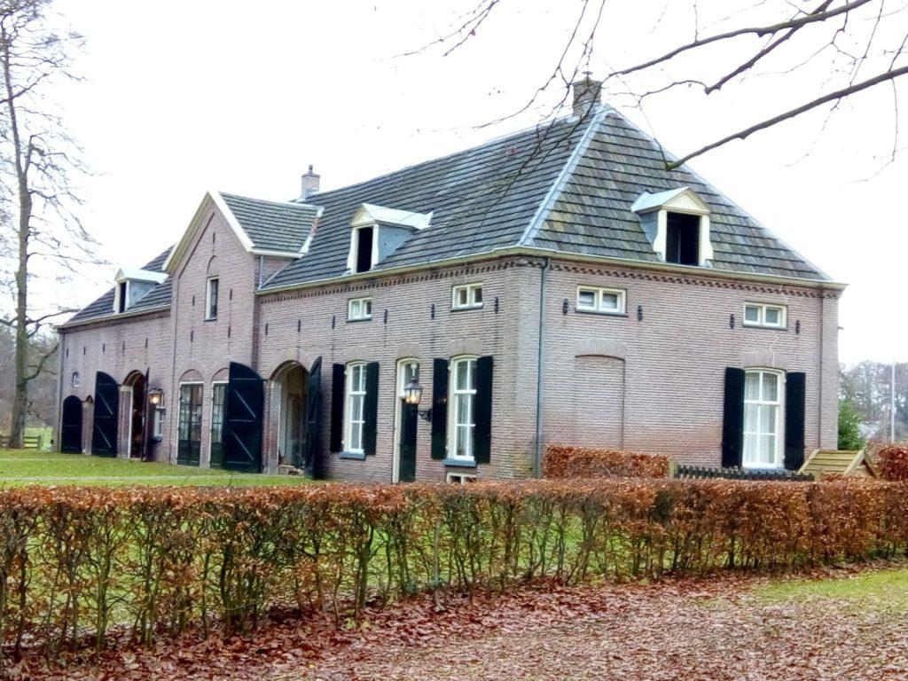 Keuken Van Hackfort : Lopen over landgoed hackfort en logeren in boerengeluk in vorden