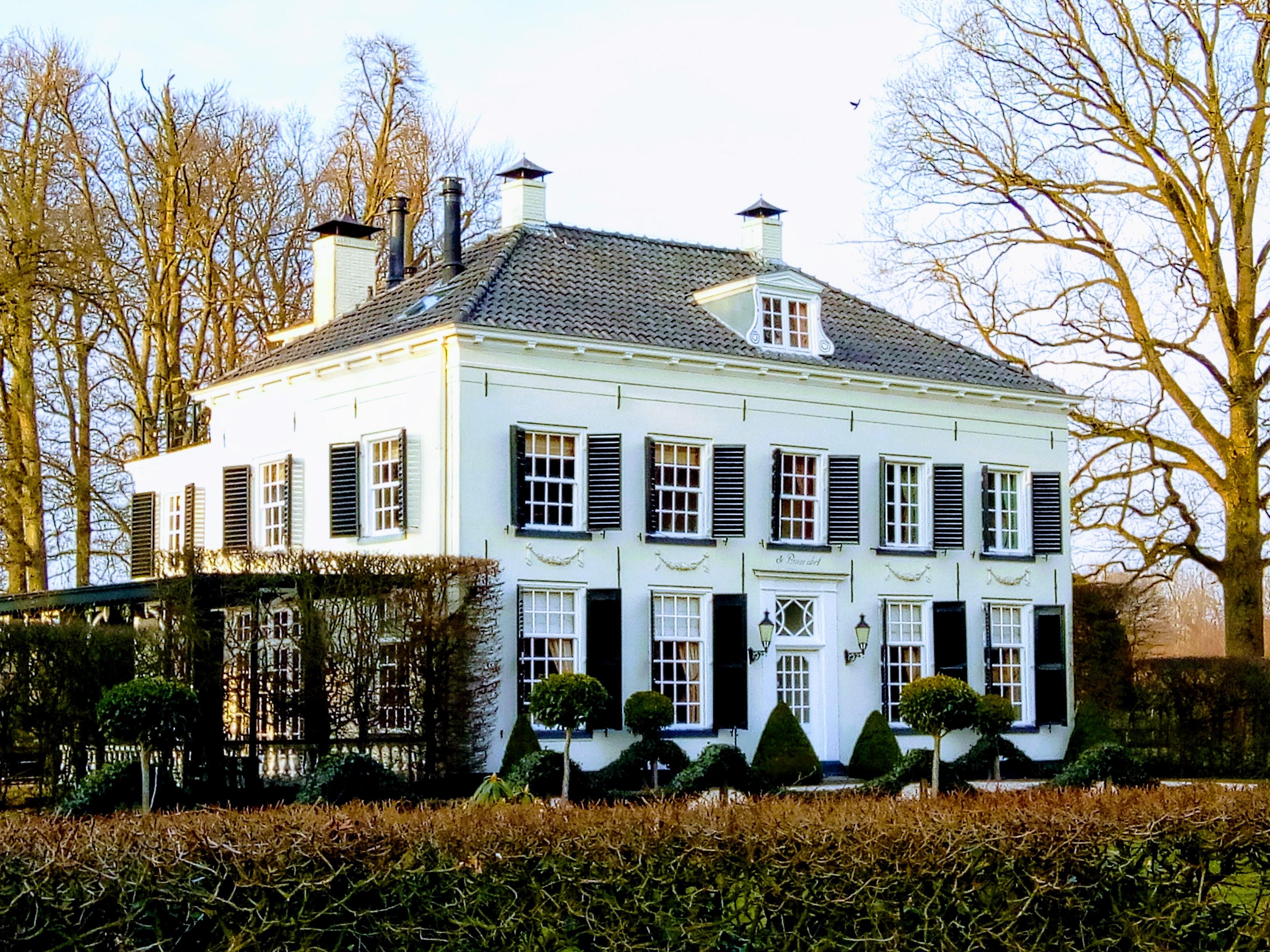 Eén van de landhuizen op landgoed Verwolde.