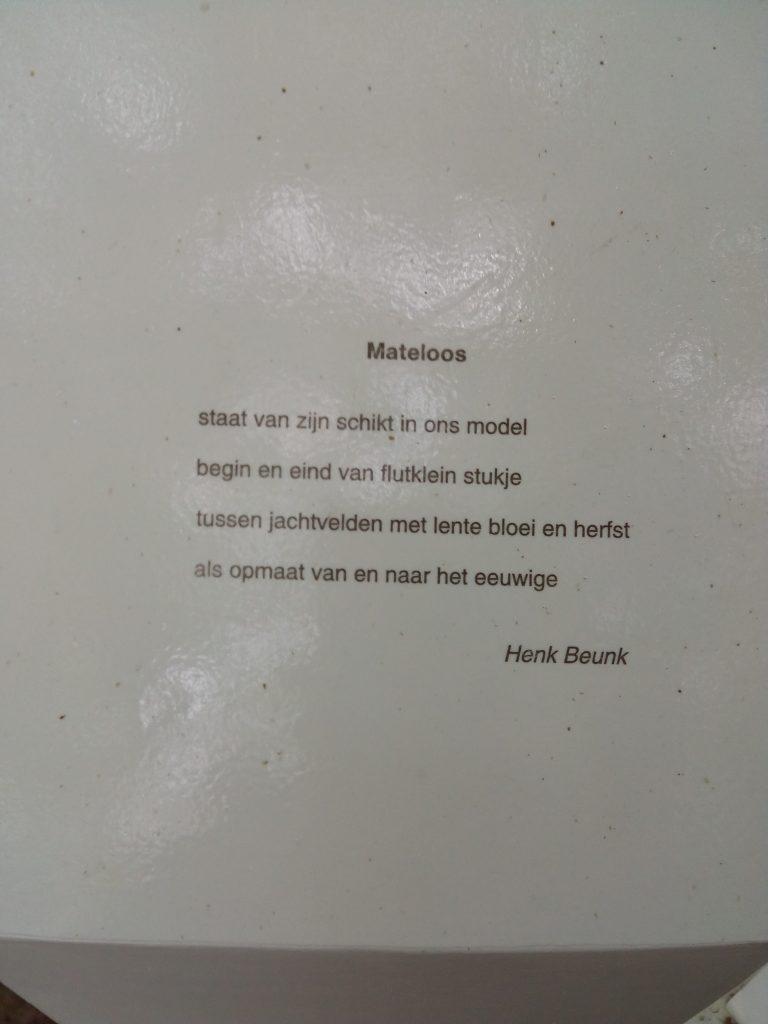 Gedicht van Henk Beunk
